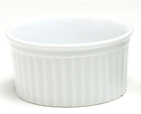 Ramequim Porcelana 10x5 cm 180 ml Branco