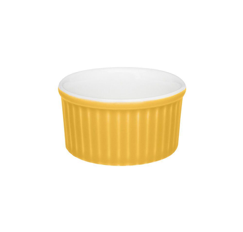 Ramequin Bicolor 100ml Amarelo e Branco