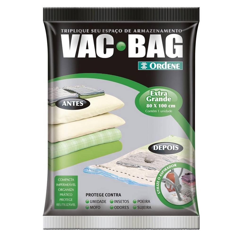 Saco para Armazenar a Vácuo Vac Bag Extra Grande