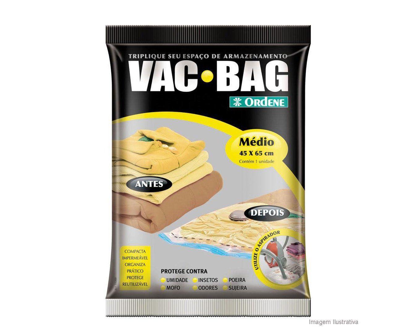 Saco para Armazenar a Vácuo Vac Bag Médio