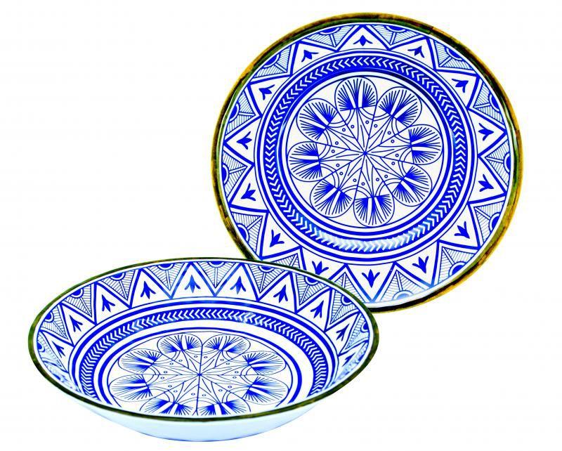 Saladeira de Melamina 26cm Mandala