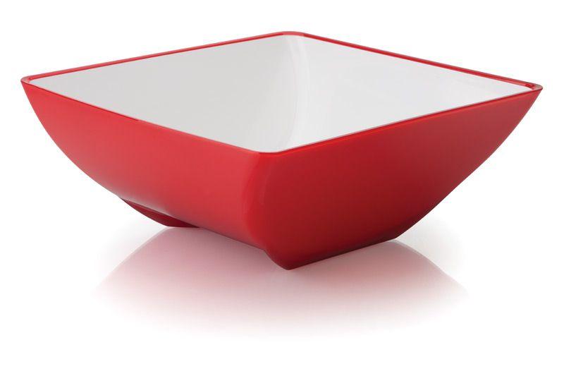 Saladeira M 3,5L Fusion Vermelha