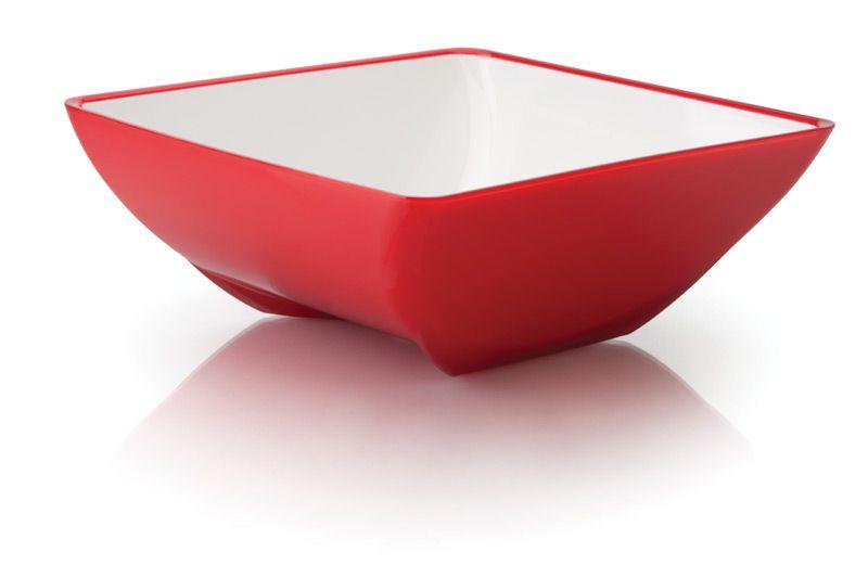 Saladeira P 1,75L Fusion Vermelha