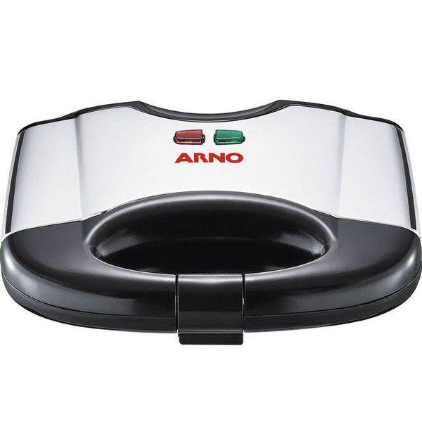 Sanduicheira Elétrica Grill SACS Inox 127v