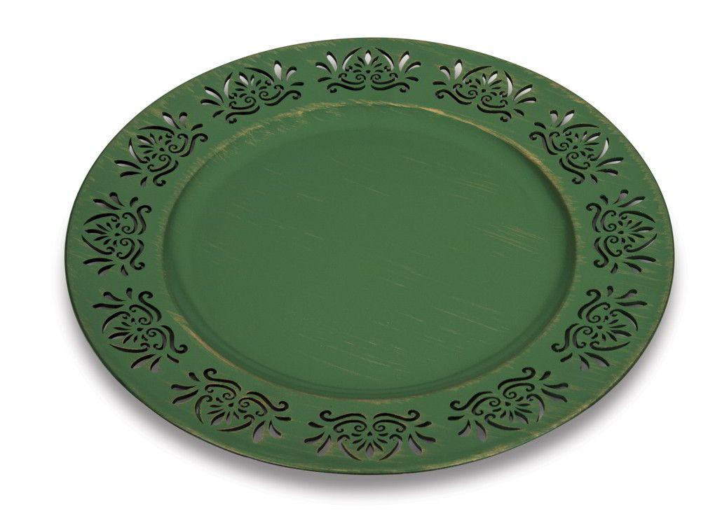 Sousplat 33cm Style Green