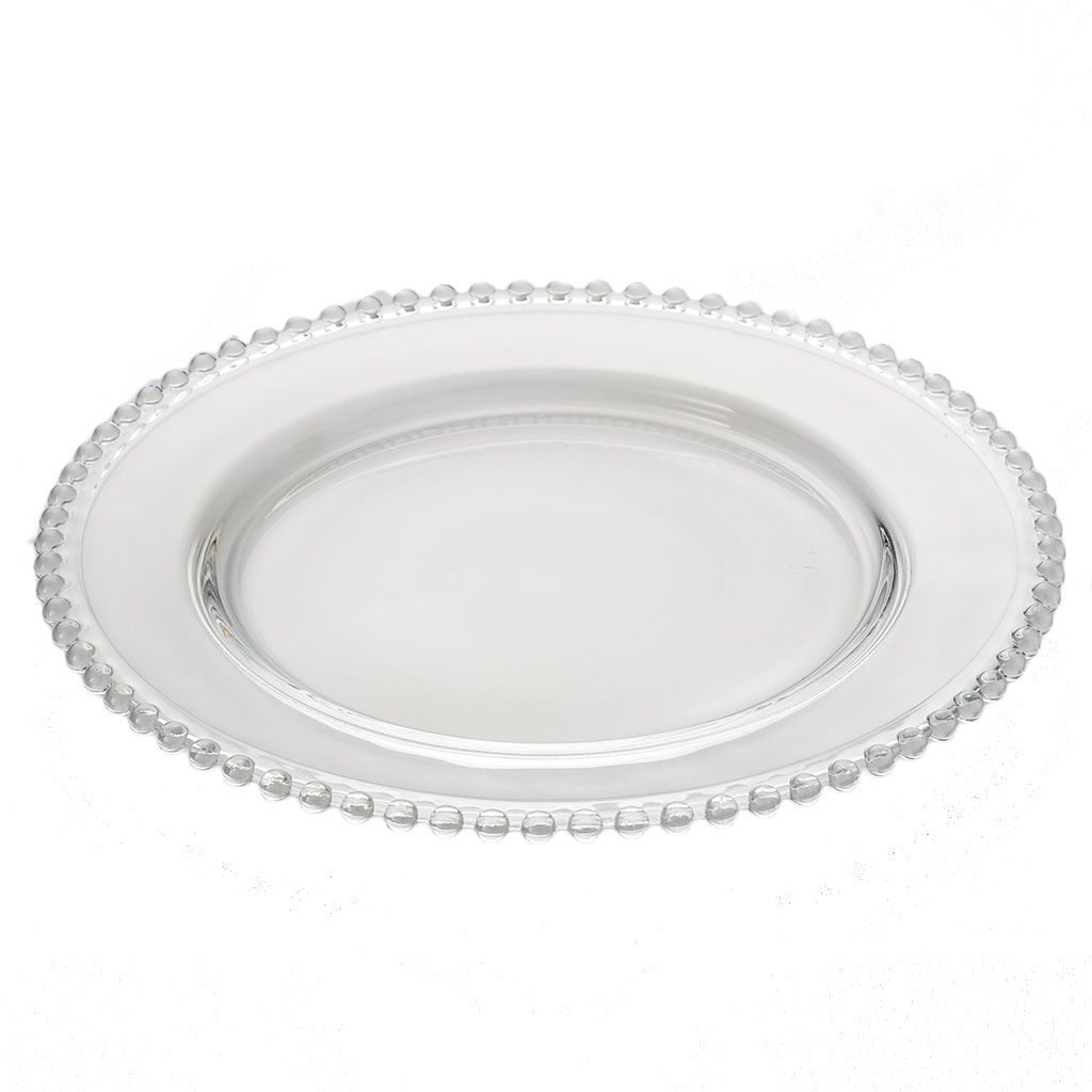 Sousplat de Cristal 31,5cm Pearl