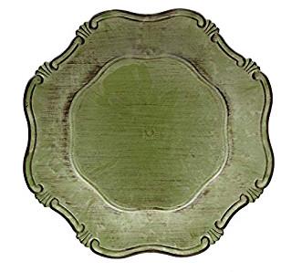 Sousplat Greco Corinto 33cm Abacate
