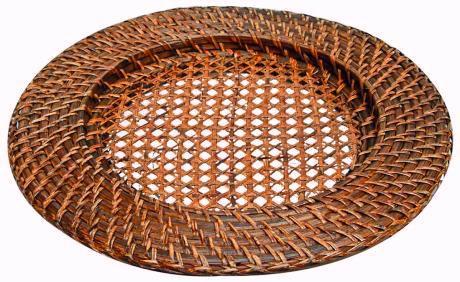 Sousplat Redondo 32 x 2,5 cm Ratan
