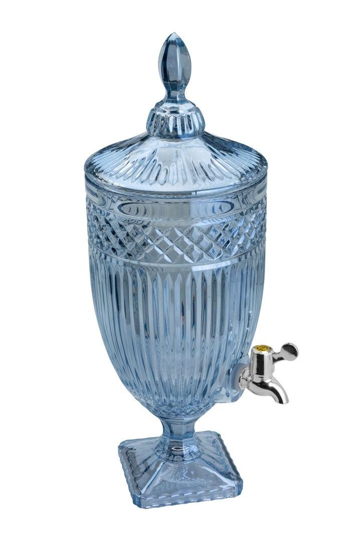 Suqueira de Cristal 4,5L Eco Azul Persa