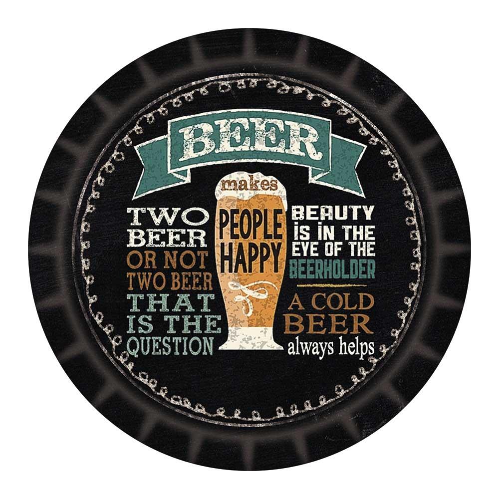 Tábua de Vidro Dynasty 20cm Cerveja