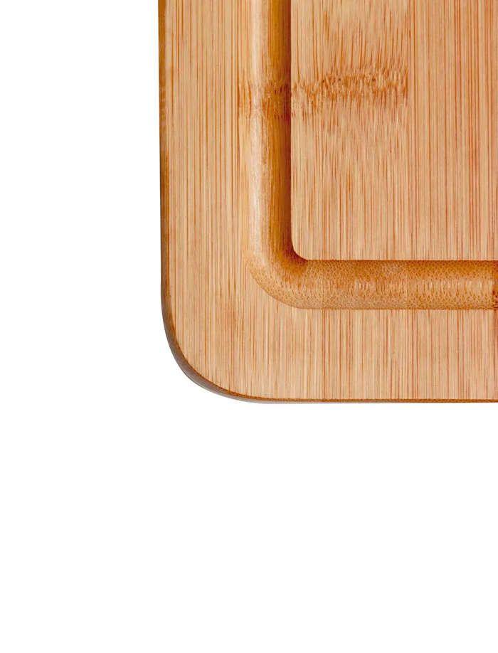 Tábua para Corte Bamboo com Alça 38,5x20,5cm