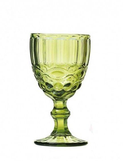 Taça Água Elegance 270ml Verde