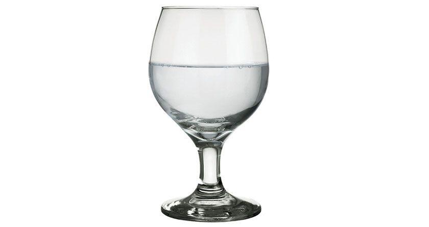 Taça Agua Vidro 320ml Gallant