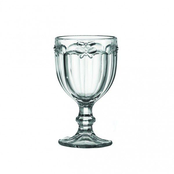 Taça de Vidro 260ml Libélula Clear