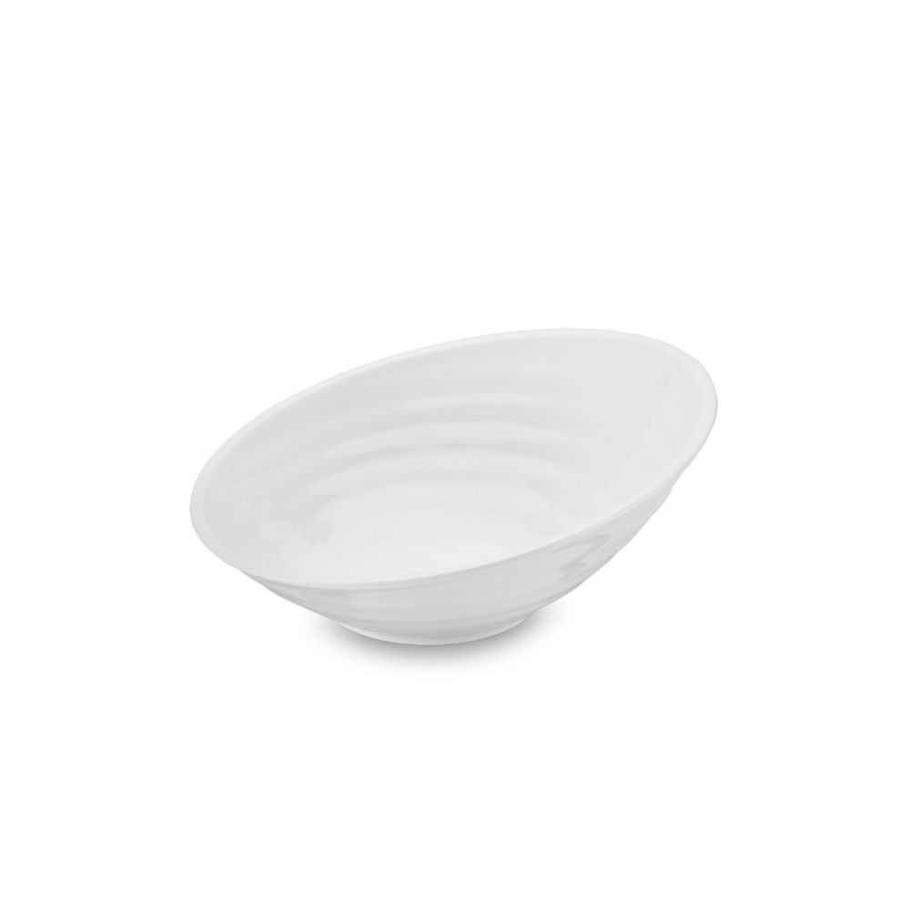 Tigela Bowl Melamina 36 x 14,5 cm Ocean Branca