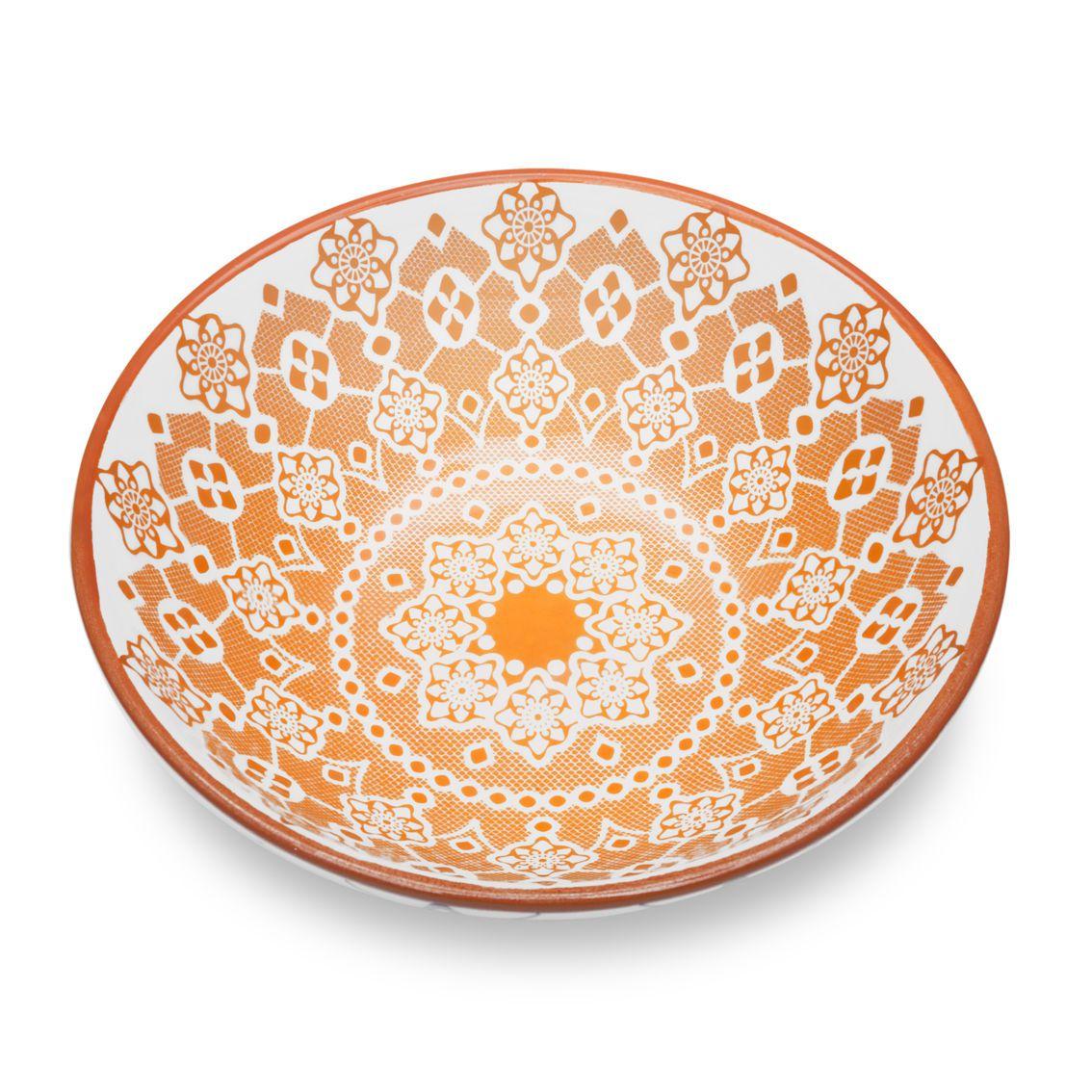 Tigela Cerâmica 600ml Full Ladrilho