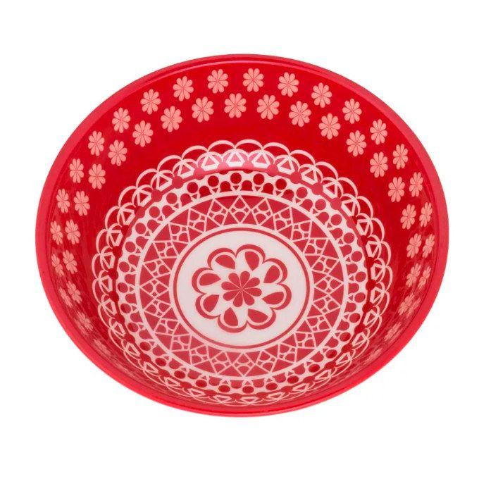 Tigela Cerâmica 600ml Full Renda