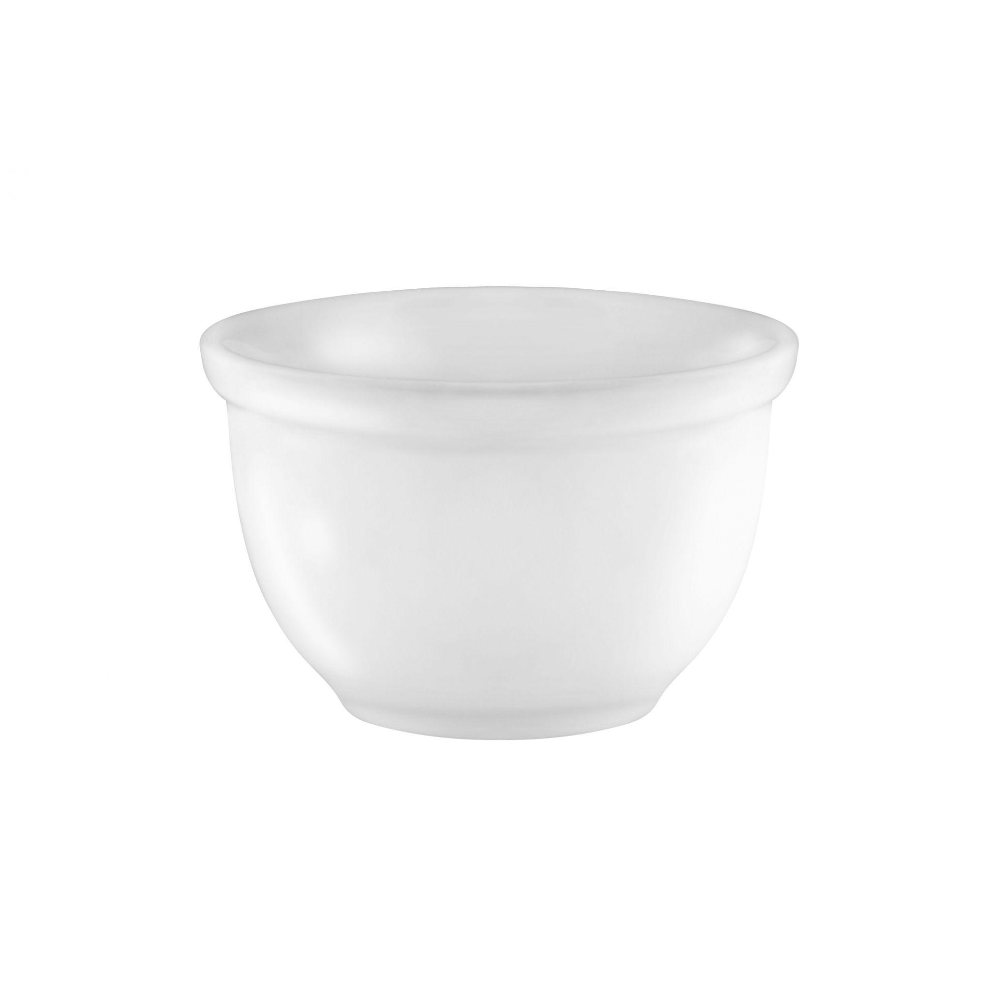Tigela Iogurteira Porcelana 400 ml Branca