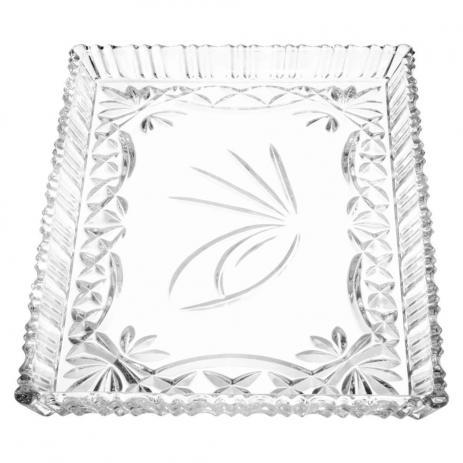 Travessa Cristal de Chumbo 25,5 x 19,5 cm Janine