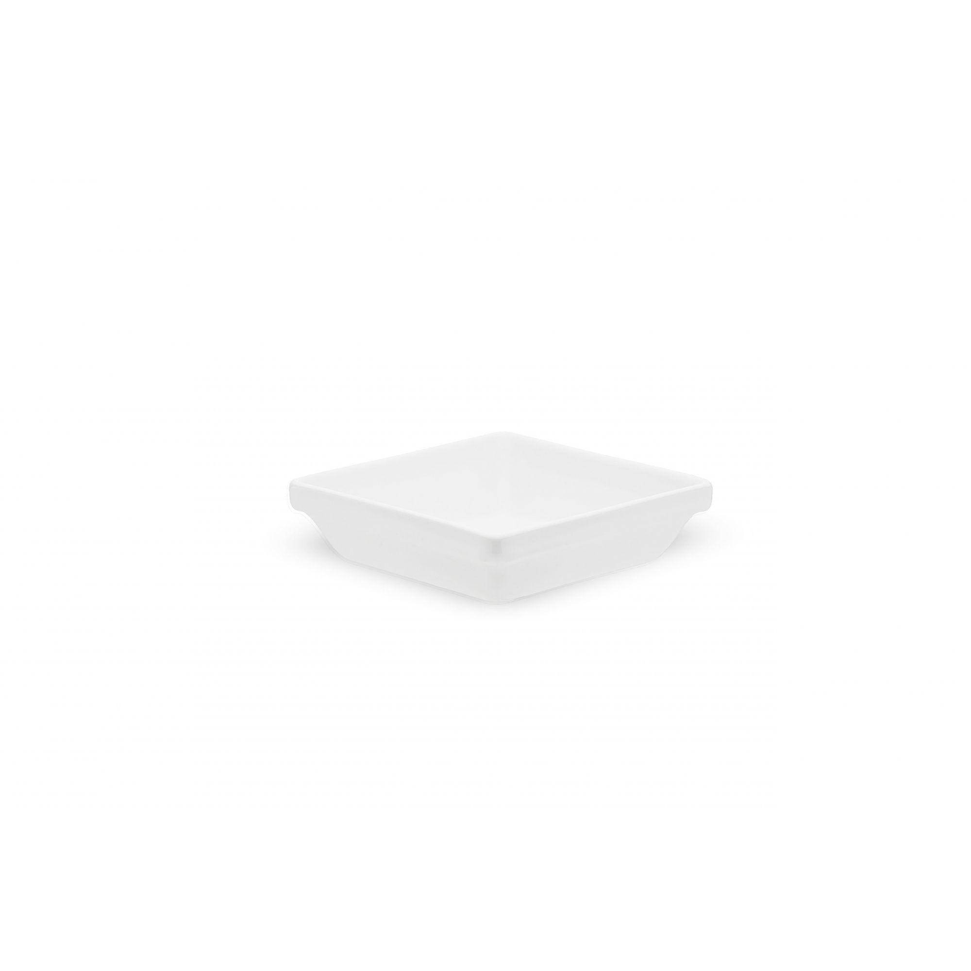 Travessa Porcelana Refratária Empilhável 450 ml Branca