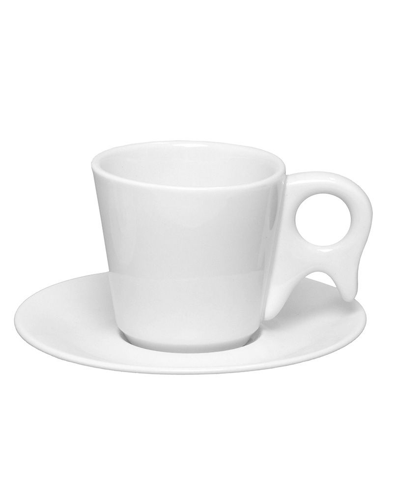 Xícara de Café com Pires 75ml Genova