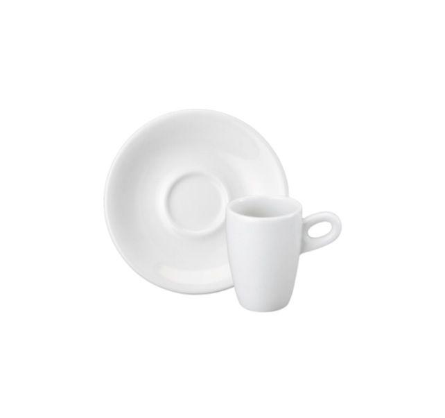 Xícara de Café com Pires em Porcelana 70 ml Sofia