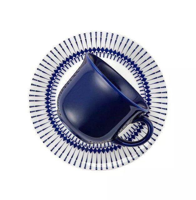 Xícara de Chá com Pires 200ml Actual Colb