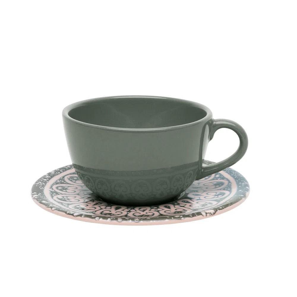 Xícara de Chá com Pires 200ml Elo