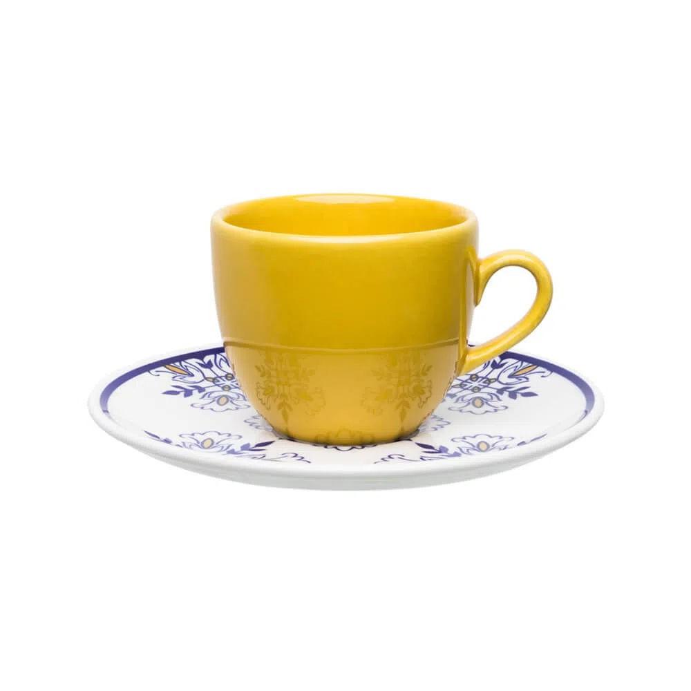 Xícara de Chá com Pires 200ml Lisboa