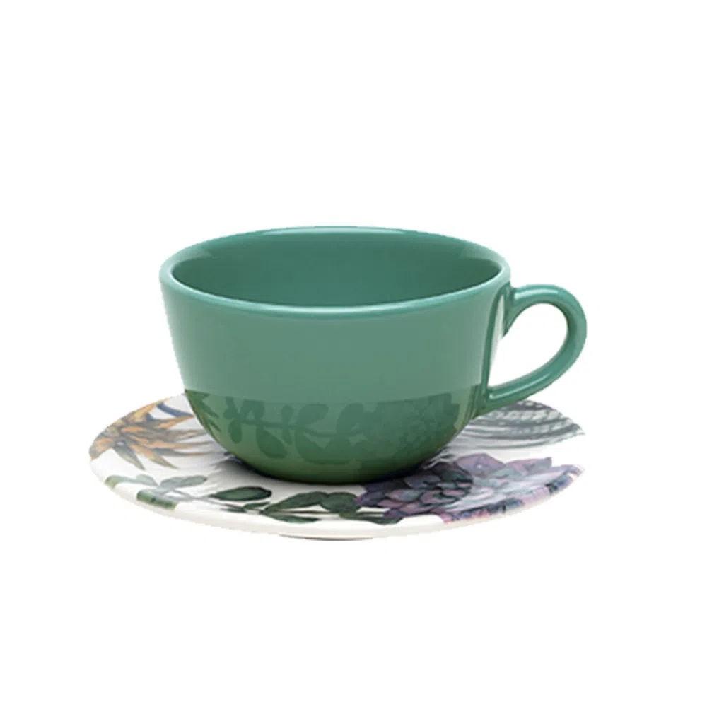 Xícara de Chá com Pires 220ml Bothanica