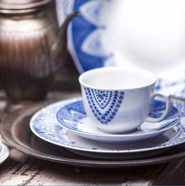 Xícara de Chá com Pires 240ml Milano