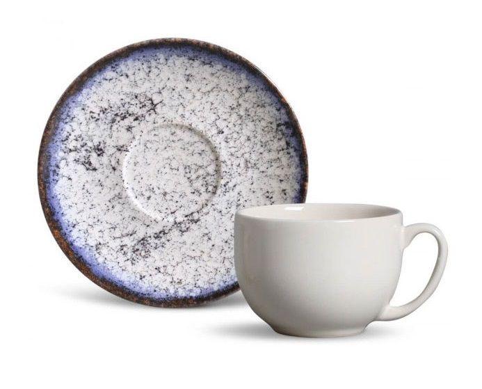 Xícara de Chá com Pires Coup Cosmic Blue