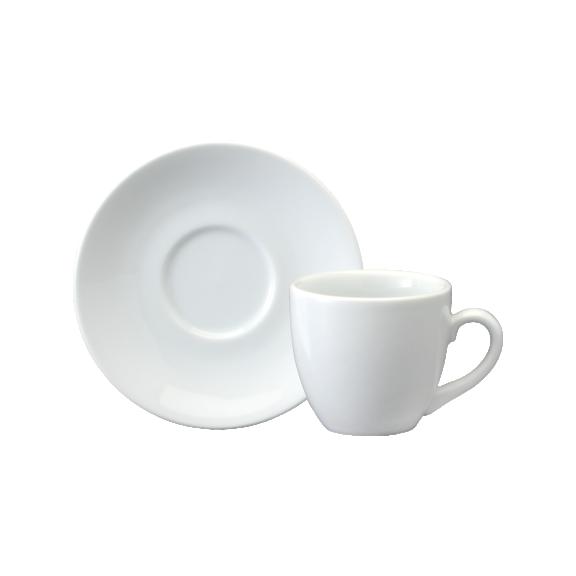 Xícara de Chá com Pires em Porcelana  200ml Horsa