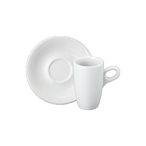 Xícara de Chá com Pires em Porcelana 200ml Sofia