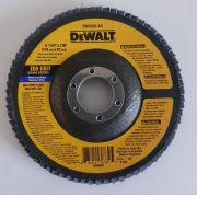 Disco de Flap Dewalt 4'' x 1/2'' x 7/8'' 80 Grão