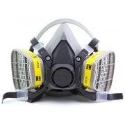 Kit Respirador Semi Facial Ref.6200 com 2 Catucho 6003 Vo/GA