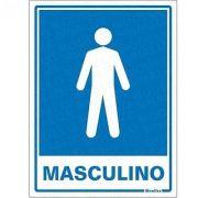 Placa 15x20 Sanitario Masculino