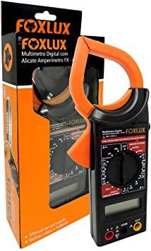 Alicate Amperimetro com Multimetro Digital