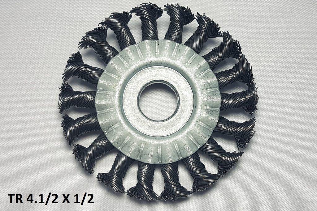 Escova Circulares Trançadas Abrasfer 4x1/2x7x8