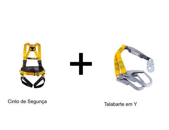 Kit Cinto de Segurança com Talabarte