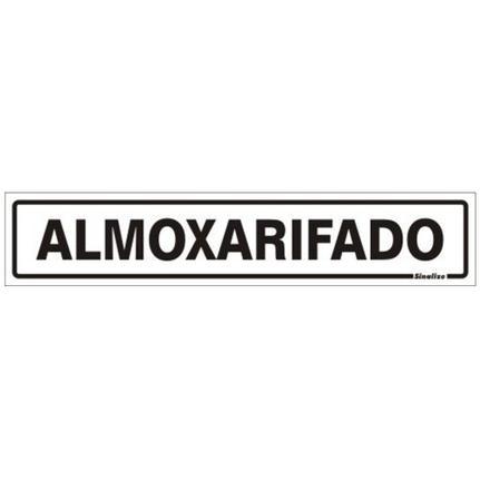 Placa 05X25 Almoxarifado
