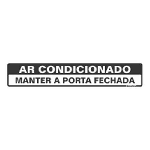 Placa 05X25 Ar Condicionado