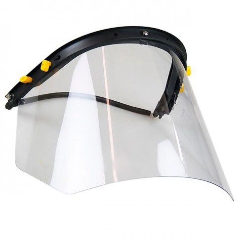 Protetor Facial e Acoplador de Capacete