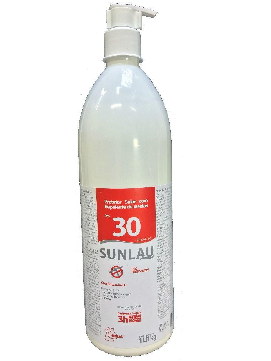 Protetor Solar FPS 30 C/ Repelente 1L