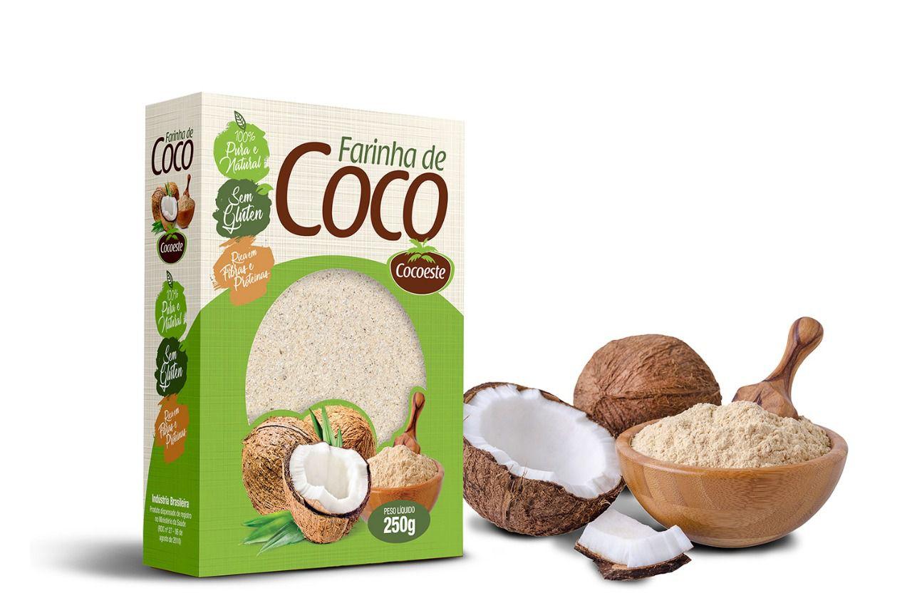 Farinha de coco Cocoeste - 250g