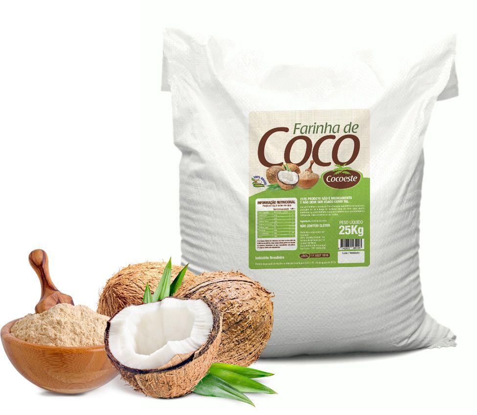 Farinha de coco Cocoeste - 25Kg