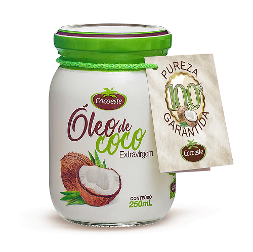 Óleo de coco extravirgem Cocoeste 250 mL