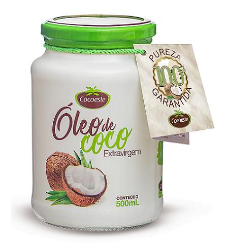 Óleo de coco extravirgem Cocoeste 500 mL