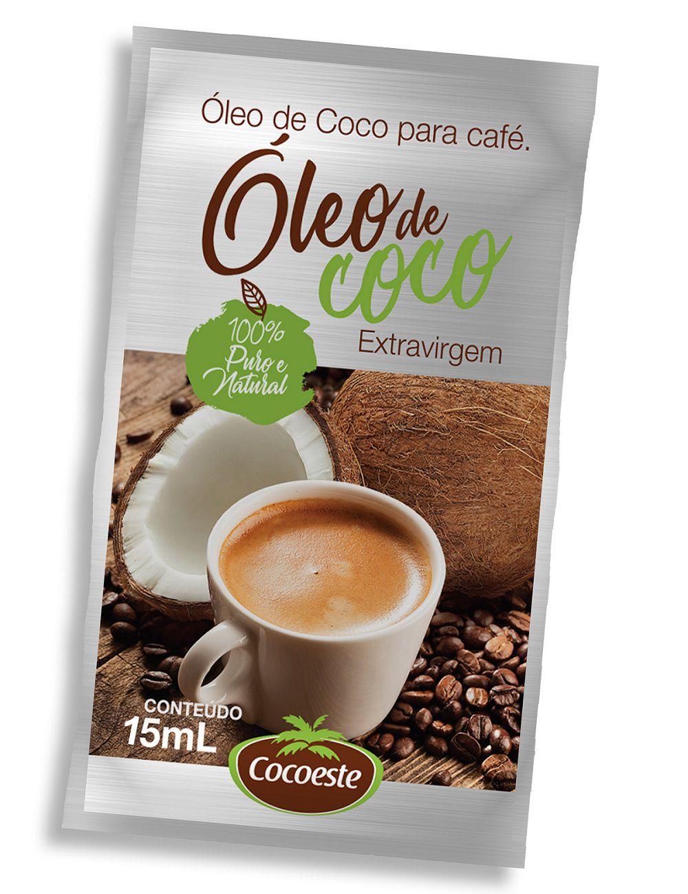 Óleo de coco extravirgem Cocoeste – Sachê 5 mL