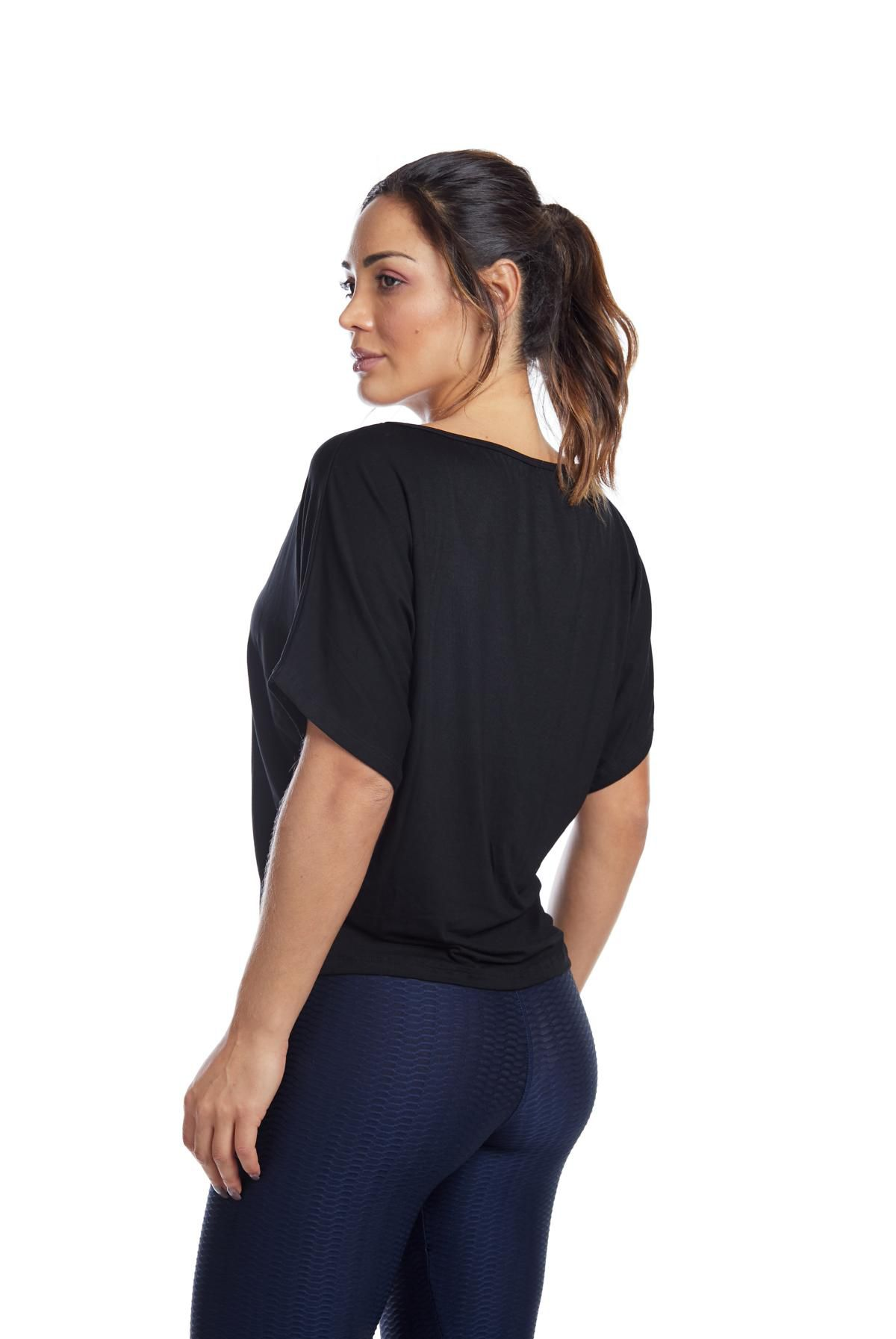 "BLUSA MORCEGO - ""PILATES TRANSFORM LIVES"""